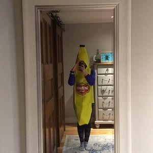 Banana costume for Halloween